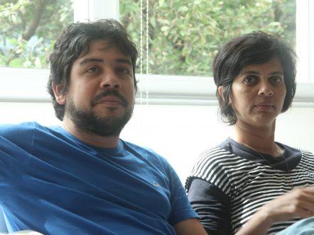 Pablo Nóbrega e Rosa Melo