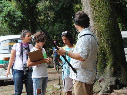 Camila Marquez, Joana Assis, Rosa Melo e Julio Braga