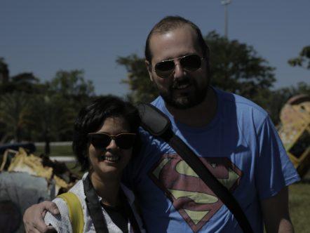 Rosa Melo e Leonardo Pirovano